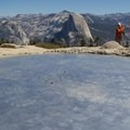 Sentinel Dome's summit.- Sentinel Dome - Taft Point Loop