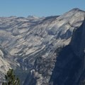 Views from the loop trail.- Sentinel Dome - Taft Point Loop