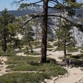 Trail to Taft Point.- Sentinel Dome - Taft Point Loop