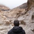 Wayfinding is straightforward on the Mosaic Canyon Trail.- Mosaic Canyon Trail
