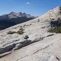 Lembert Dome's summit.- Lembert Dome Loop