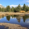 Calm on the Tuolumne River.- Soda Springs