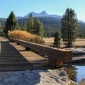 Tuolumne River Bridge.- Soda Springs