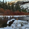 The Crooked River below Prineville Reservoir.- Crooked River