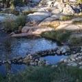 RIverside springs.- Mono Hot Springs