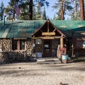 The General Store and office at Mono Hot Springs Resort.- Mono Hot Springs Resort