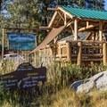 Mono's River Rock Cafe.- Mono Hot Springs Resort