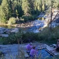 Old Pedro, one of a handful natural hot pools at Mono Hot Springs- Mono Hot Springs Resort