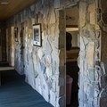 The bathhouse.- Mono Hot Springs Resort