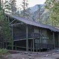 Cedar Grove Lodge.- Road's End + Cedar Grove