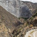 The road into King's Canyon.- Road's End + Cedar Grove