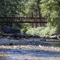 South Fork of the King's River.- Zumwalt Meadow Loop