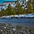 Winter on the Crooked River. - Crooked River