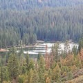 Hume Lake in Sequoia National Forest.- Hume Lake Campground