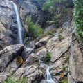 Grizzly Falls in Kings Canyon.- Grizzly Falls