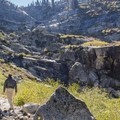 Last stretch before the falls.- Tokopah Valley Trail