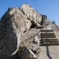 Nearing the summit.- Moro Rock