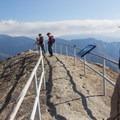 Moro Rock's summit.- Moro Rock