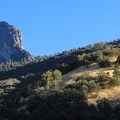 The granite monolith known as Moro Rock in Sequoia National Park.- Moro Rock