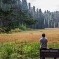 Crescent Meadow, located in the Giant Forest, is also the start of the High Sierra Trail.- Giant Forest