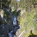 The third West Fork of the North Fork waterfall.- North Fork of the Big Wood - West Fork of the North Fork