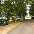 RV sites at Salt Creek Recreation Area.- Salt Creek Recreation Area Campground
