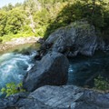 Goblin Gates.- Elwha River Trail, Goblin Gates + Humes Ranch Loop