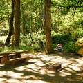 Walk-in campsite at Altair Campground.- Altair Campground
