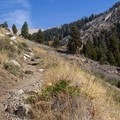 Monarch Lake/Sawtooth Pass Trail.- Monarch Lakes Hike