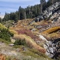 Monarch Creek drainage.- Monarch Lakes Hike