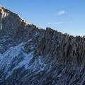 Sawtooth Peak from Sawtooth Pass. Sequoia National Park.- Columbine Lake