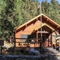 Mineral King Ranger Station.- Mineral King Valley