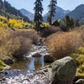 The valley is the headwaters for the East Fork of the Kaweah River.- Mineral King Valley