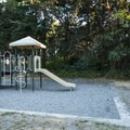 Playground at Dungeness Recreation Area Campground.- Dungeness Recreation Area Campground