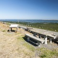 Dungeness Landing day use picnic area.- Dungeness Landing County Park