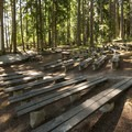 Amphitheater at Sequim Bay State Park.- Sequim Bay State Park Campground