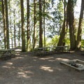 Group Camp at Sequim Bay State Park Campground.- Sequim Bay State Park Campground