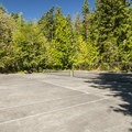 Tennis courts at Sequim Bay State Park.- Sequim Bay State Park Campground