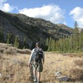 A dry trail for the return trip.- The Devils Bedstead via Boulder Lake Canyon