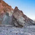 Gower Gulch Loop in Death Valley National Park.- Gower Gulch Loop