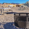 Fire pits at Texas Springs Campground. - Texas Springs Campground