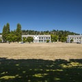 Parade Ground at Fort Worden State Park.- Fort Worden State Park