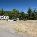 Fort Worden State Park Upper Campground.- Fort Worden State Park