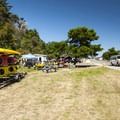 Boat rental at Fort Worden State Park Beach Campground.- Fort Worden State Park Beach Campground + Upper Forest Campground
