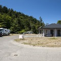 Fort Worden State Park Beach Campground.- Fort Worden State Park Beach Campground + Upper Forest Campground
