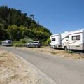 Fort Worden State Park Beach Campground.- Fort Worden State Park Beach Campground + Upper Forest Campground