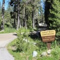 Lakes Basin Campground.- Lakes Basin Campground
