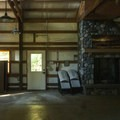 Reservable event shelter at Fort Townsend State Park.- Fort Townsend State Park Campground