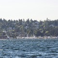 View northwest toward Port Townsend from Fort Flagler State Park.- Fort Flagler State Park Campground