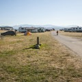 Fort Flagler State Park lower campground.- Fort Flagler State Park Campground